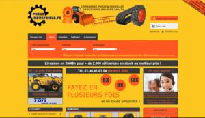 vente de pneus industriels
